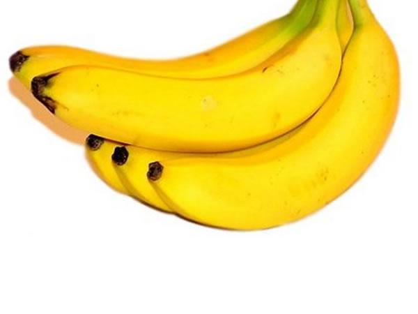 Banana i hrani i leci